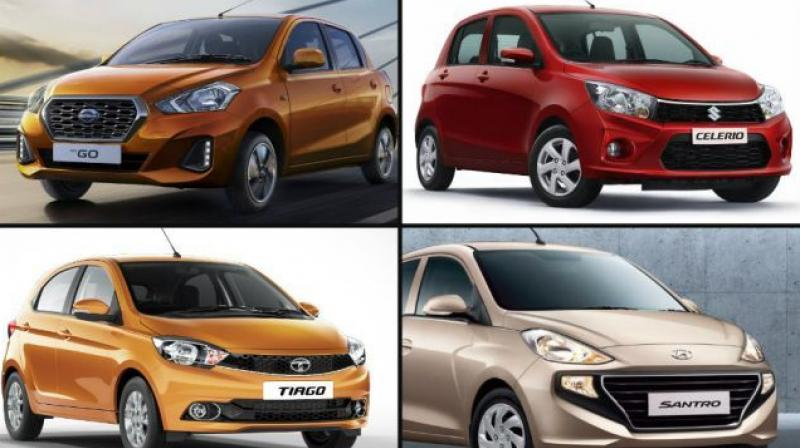 Datsun has updated the GO hatchback in terms of looks and features, and now we have official details about the upcoming 2018 Hyundai Santro as well.