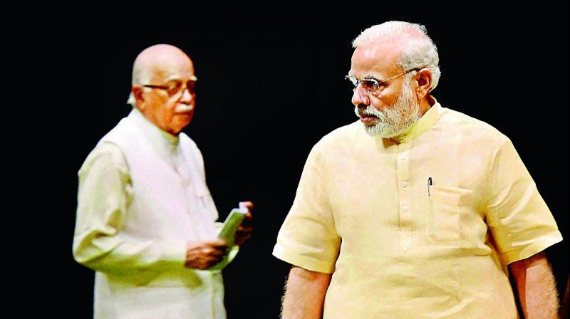 Lal Krishna Advani and PM Modi