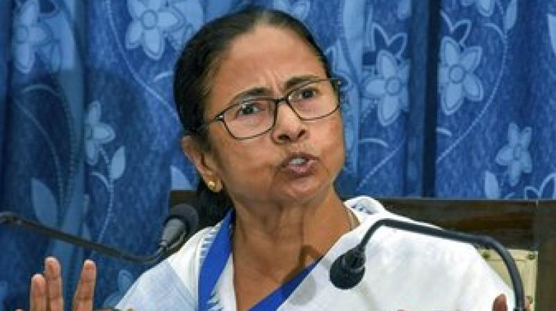 'In true fascist style, he (PM Modi) is trying to encircle everyone with agencies…The Union government will last for a month at the most,' said Mamata Banerjee. (Photo: PTI)
