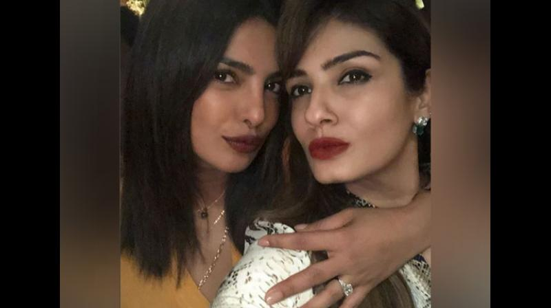Priyanka Chopra flaunts her engagement ring at Manish Malhotra's party