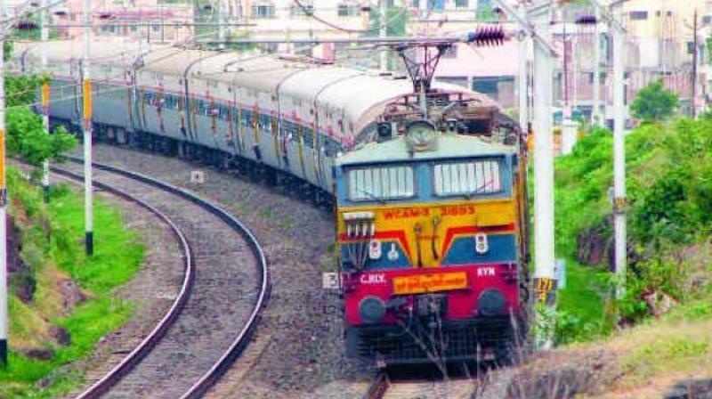 Chennai: 2 trains on same track stopped
