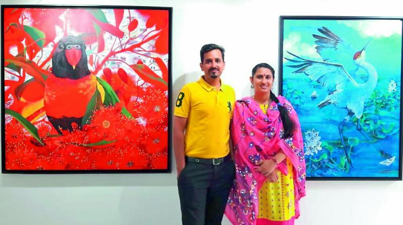 Pawan Kumar and Sweta Chandra