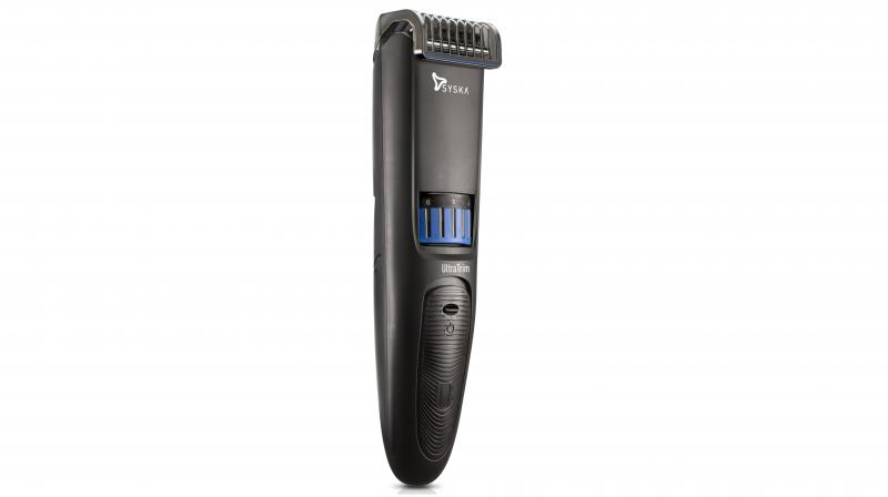 The trimmer comes with a USB cable for more flexible charging.