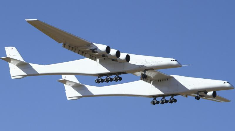 The jet flew 2 ½ hours, achieving a maximum speed of 189 mph and altitudes up to 17,000 feet. (Photo: AP)