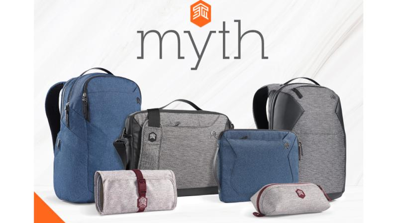 Line of backpacks, briefs, and sleeves from leading Australian accessories maker  combines innovation, striking design with company's trademark protection.