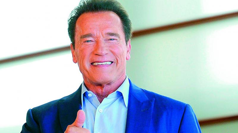 Schwarzenegger was in Johannesburg for the annual Arnold Classic Africa, an international multi-sports festival. (Photo:AP)