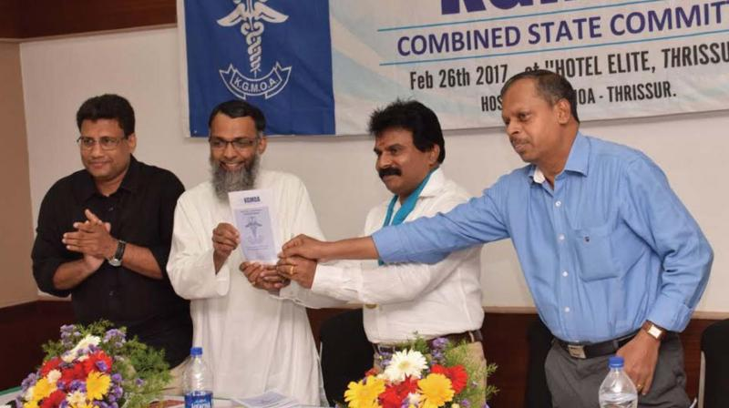 Kerala Government Medical Officers Association To Hand Charter Of Demands To Govt