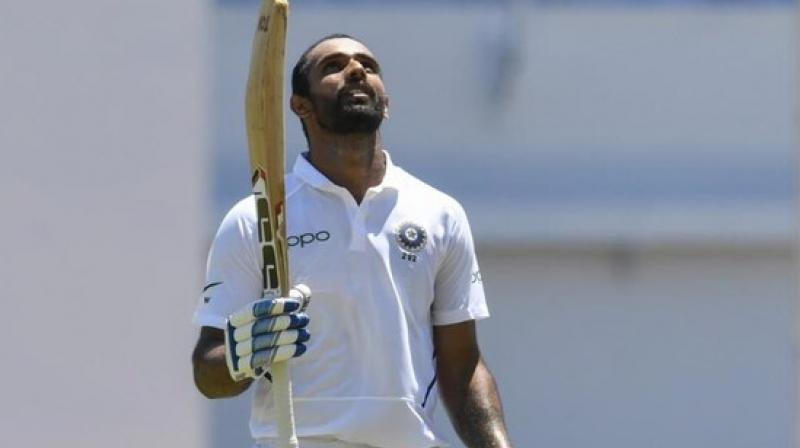 No.4 in Team India? Hanuma Vihari is interested