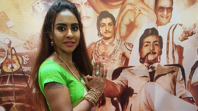 Sri Reddy strips in protest against 'casting couch' of Telugu film industry