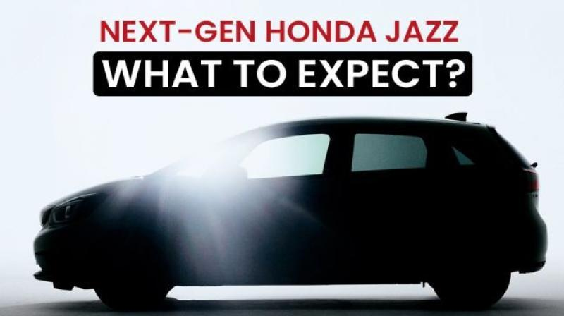 The upcoming Honda Jazz will have a curvaceous silhouette similar to the second-gen model.