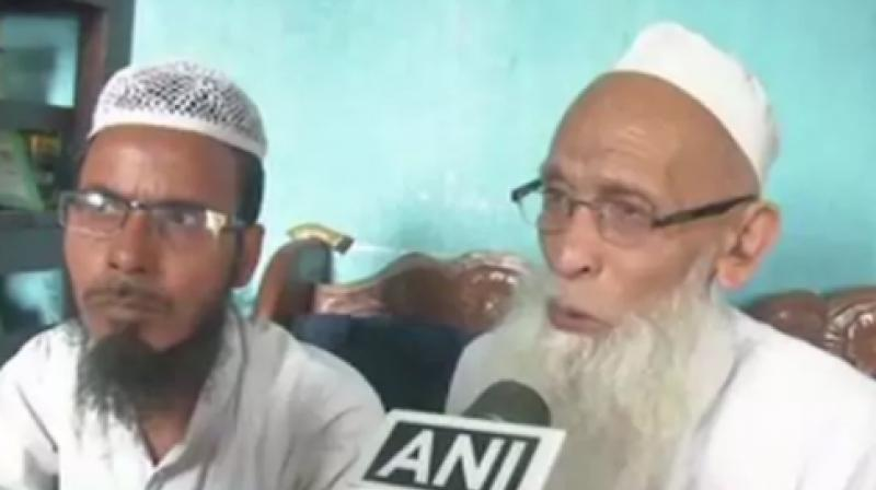 According to Azhar-ul-Islam's father, his son was allegedly asked to chant 'Jai Shri Ram'. (Photo: ANI)