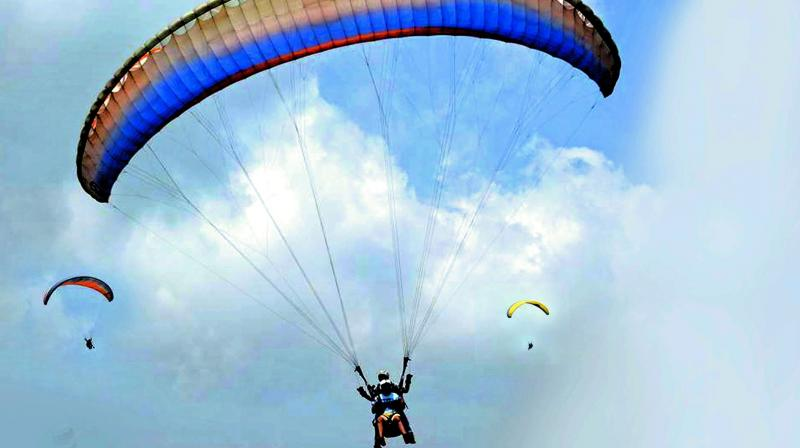 Amandeep Singh Sovti, a tourist from Mohali in Punjab, was killed when the pilot lost control of the paraglider. (Photo: File I Representational)