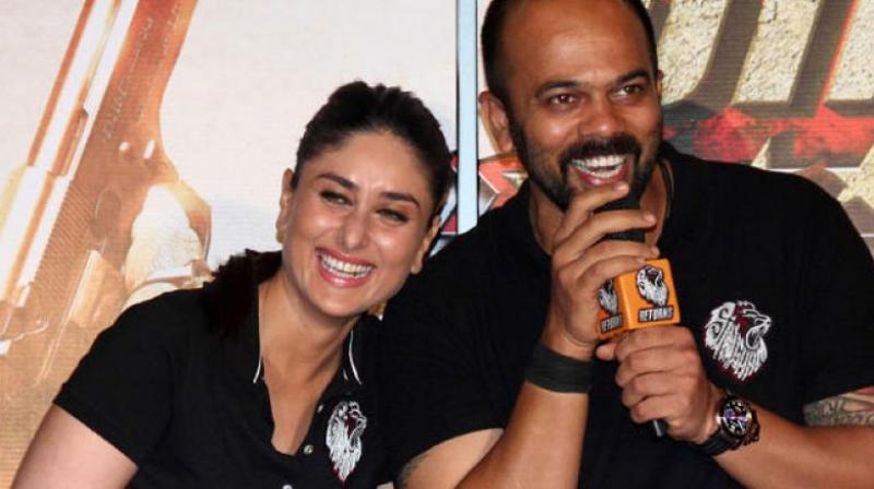 Apart from Golmaal series, Shetty had collaborated with Kareena for his another hit brand 'Singham's sequel, which was a massive success.