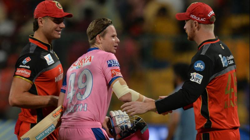 Rajasthan Royals will next play against Delhi Capitals whereas Royal Challengers Bangalore will take on Sunrisers Hyderabad on May 4. (Photo: AFP)