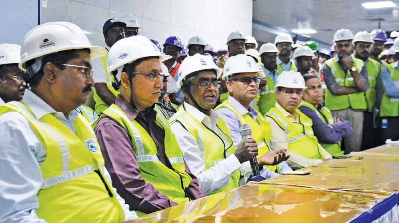 Last stretch of CMRL's Phase-1 to open by January-end