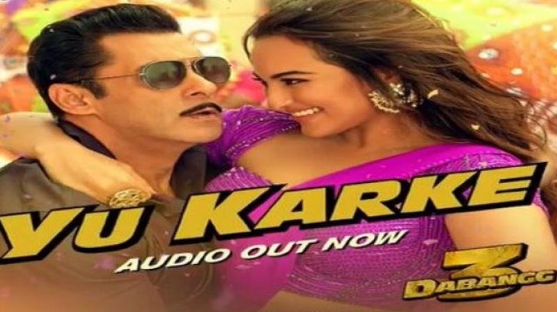 Dabangg 3: New song Yu Karke featuring Salman Khan is here