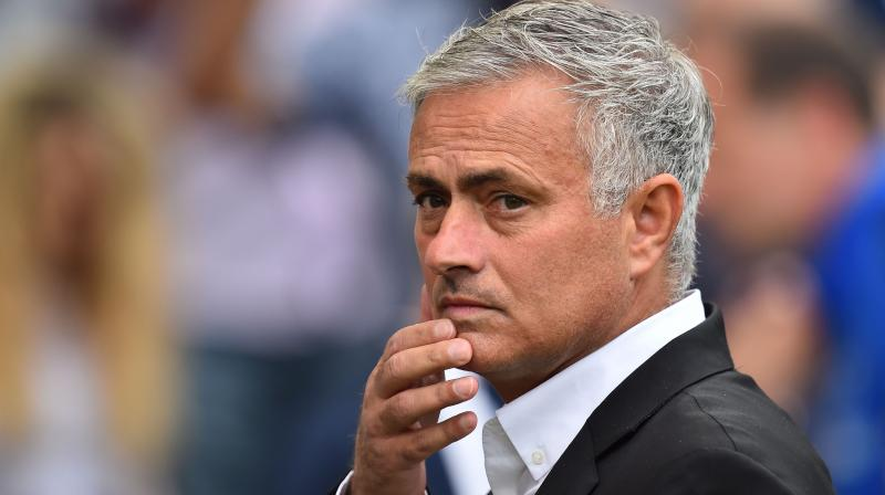 Mourinho refused to discuss even the most banal of topics with the media, other than to claim that he was not left frustrated by the defeat at Brighton last weekend. (Photo: AFP)