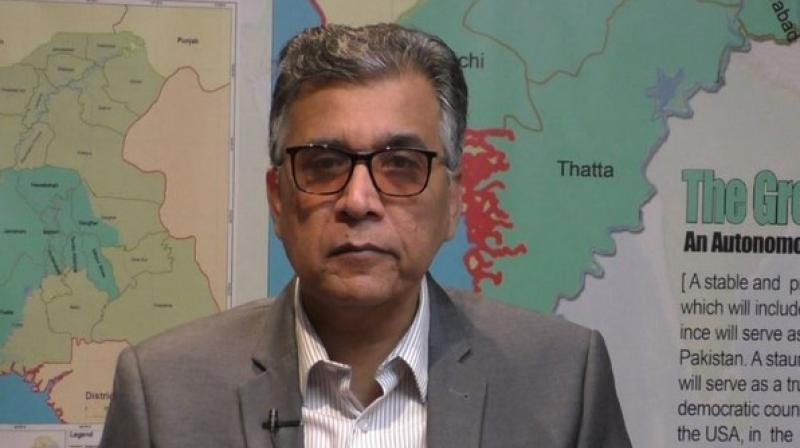 Voice of Karachi chairman Nadeem Nusrat. (Photo: ANI)