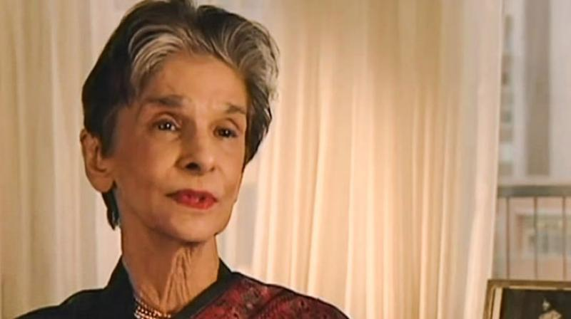 Dina Wadia, 98, daughter of Pakistan founder Mohammad Ali Jinnah, passed away at her home in New York on Thursday. (Photo: File)