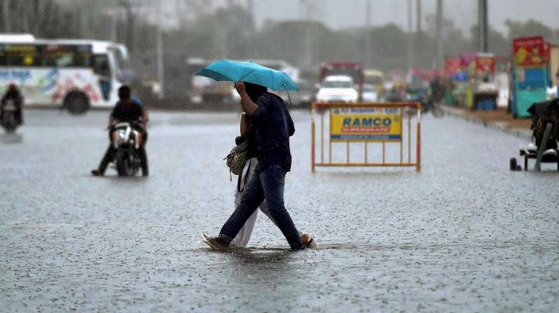 The Met department forecast heavy to very heavy showers in north coastal Tamil Nadu till Saturday. (Photo: PTI)