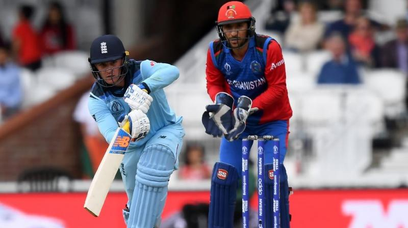 Opening batsman Jason Roy was also forced off the field during the same match due to a tight hamstring. (Photo:AFP)