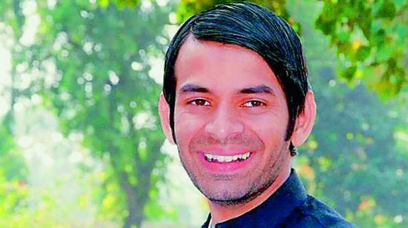 RJD's rebel leader Tej Pratap Yadav (Photo: File)