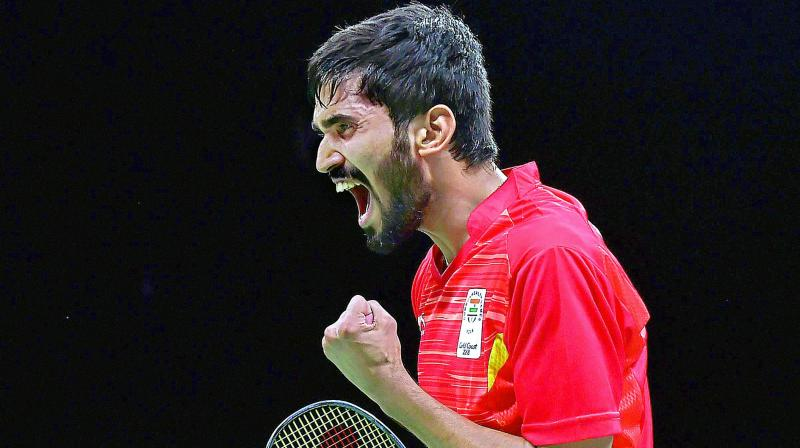 India's Srikanth climbs to No.1 in badminton rakings