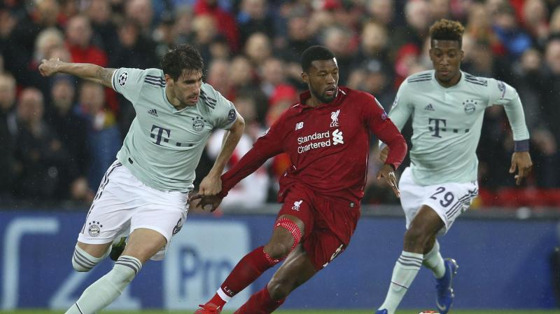 In their fourth visit to Anfield, the German champions drew 0-0 in the Champions League on Tuesday to go a fourth game at the stadium without finding the net. (Photo: AP)