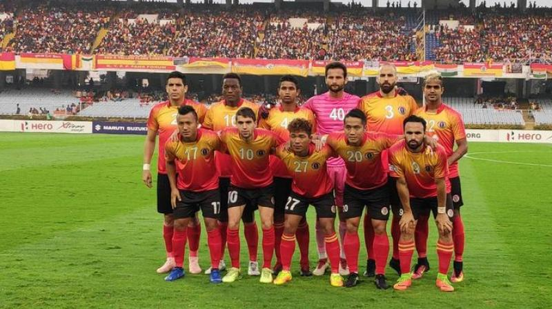 The first half of the match went goalless. (Photo: Twitter / East Bengal)