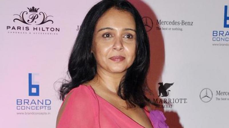 Suchitra Krishnamoorthi was married to director Shekhar Kapur.