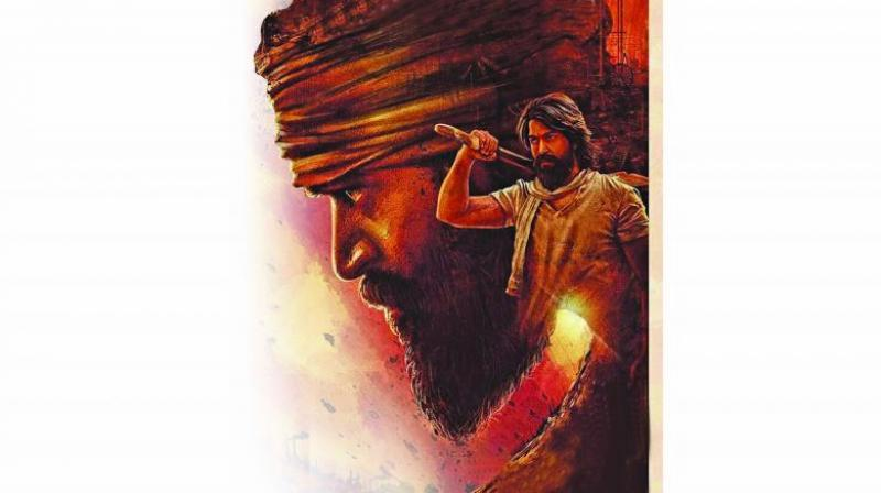 KGF Chapter 1 movie review: Solid Yash can't salvage flimsy