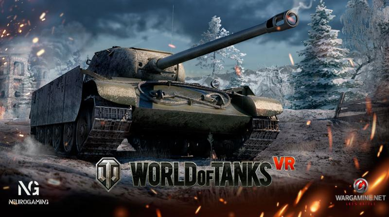 As of now World of Tanks VR is still at a relatively early stage in its development and offers only a few tanks.