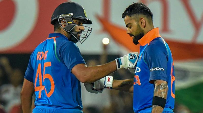 """""""Our seniors like Rohit bhai, Virat bhai motivate youngsters like us a lot. When they do so, we too feel that we need give our best (on being fit),"""" said Kuldeep Yadav. (Photo: PTI)"""