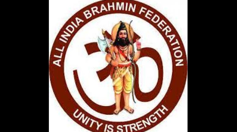 The All India Brahmin Federation (AIBF) has demanded 19 per cent reservation for economically backward people from seven upper castes, including the 5 per cent reservation for Kapu community. (Image courtesy: Facebook)