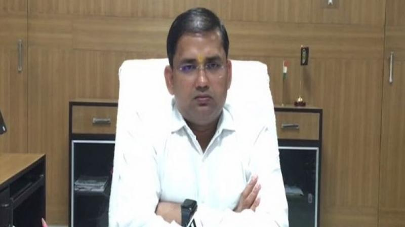 Anuj Kumar Jha said, 'We just want to say that do not like share or forward any defamatory social media posts which might hurt sentiments of any community.' (Photo: ANI)