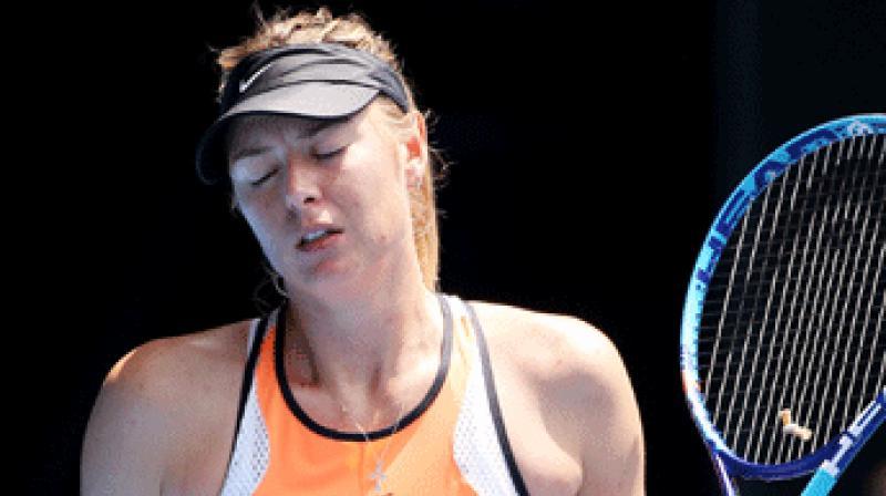 Maria Sharapova splits from longtime coach Sven Groeneveld