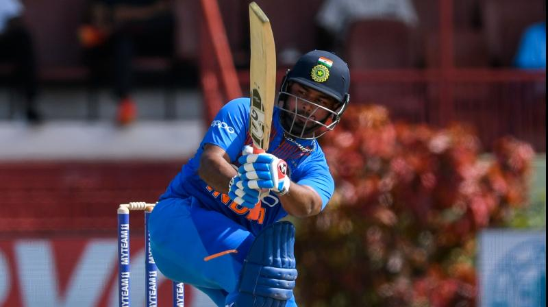 On August 6, 2019, we saw a new side of Rishabh Pant after he played a sensible yet aggressive knock of 65 off 42 balls to steer his side home. With Rishabh Pant and Virat Kohli's sensible knock, India got out of a tense situation to clinch the T20I series against West Indies 3-0. (Photo:AFP)