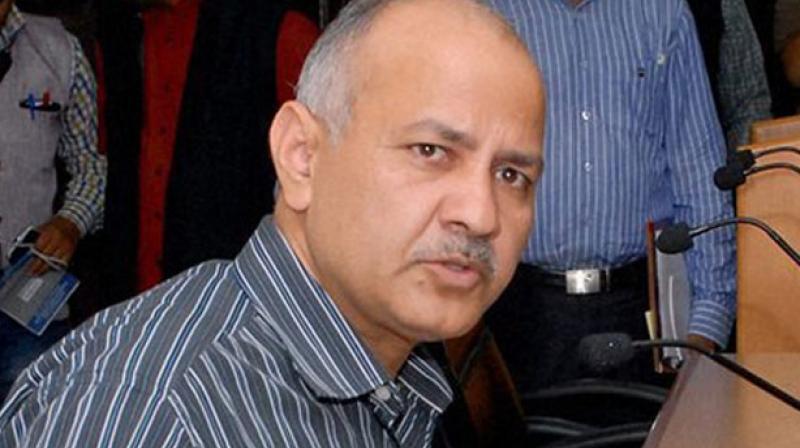 Delhi Deputy Chief Minister Manish Sisodia.