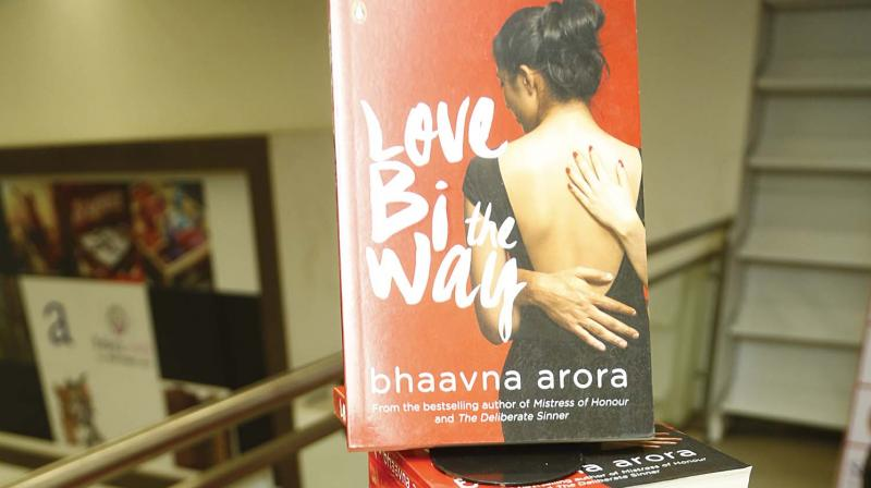 Published by Penguin India, the book tells the story of two bisexual women through a realistic narrative.
