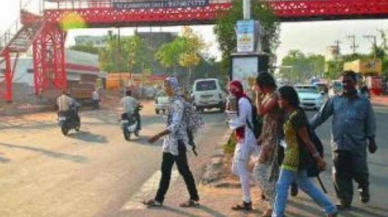 These footpaths were in addition to 224 km which were laid earlier against the road length of 9,000 km. (Representational image)