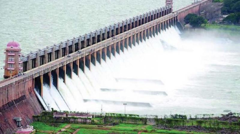 About 100.09 TMC ft of water was recorded in the reservoir on Wednesday as against 97.51 TMC ft last year. (Representational image)