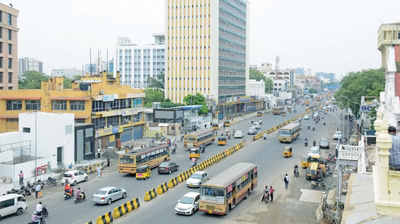 Two-way Anna Salai now. (Photo: DC)