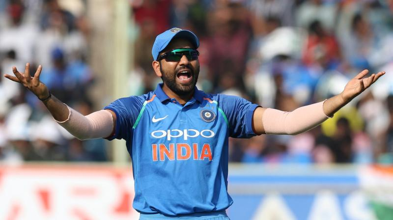 Image result for rohit sharma to media