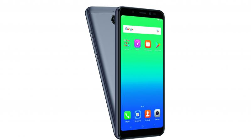 The Canvas Infinity is a 5.7 inch device with 18:9 display screen with 1440x720 HD resolution.