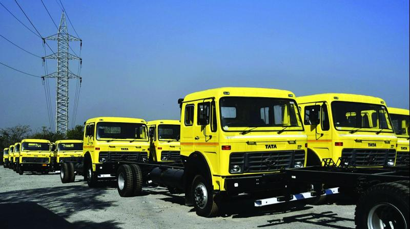 Commercial vehicle sales, the barometer of the economy, however, declined 23 per cent to 67,060 units as compared to 87,618 units in October last year.