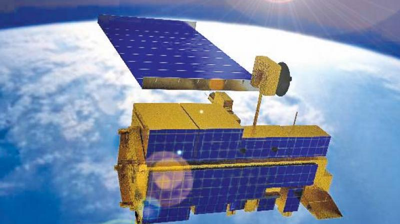In October 2007 and July 2008, a Landsat-7 Earth observation satellite built by NASA and managed by the US Geological Survey experienced 12 or more minutes of interference.