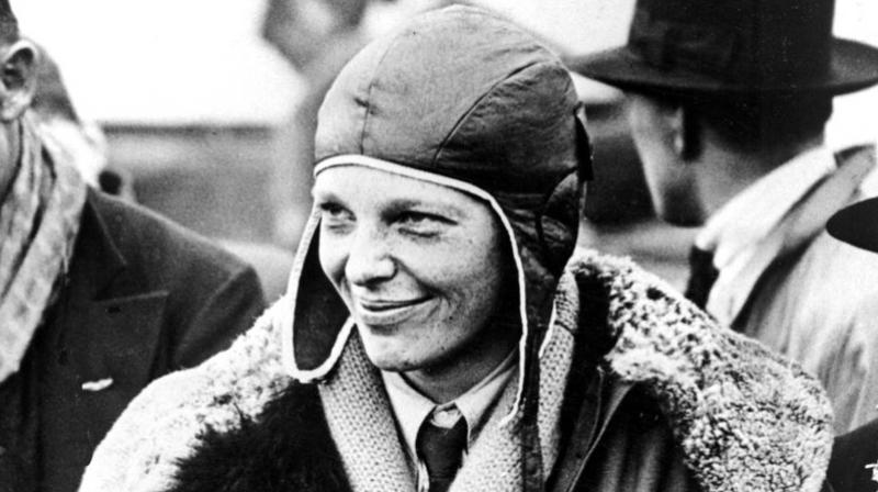 Earhart disappeared during an attempted flight around the world in 1937.