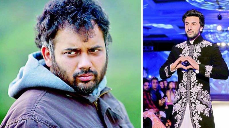 Luv Ranjan (L) and Ranbir Kapoor