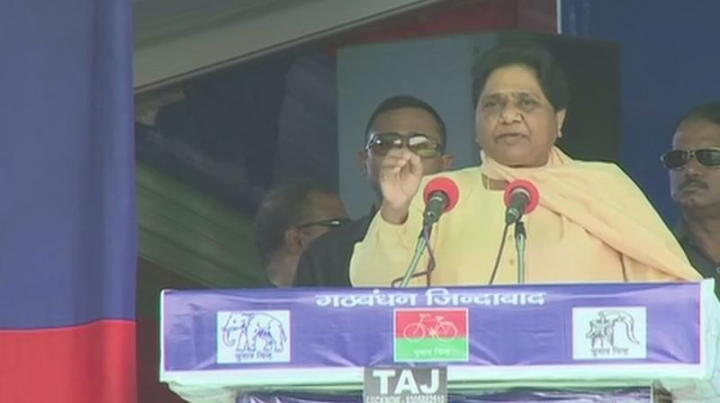 It will be the first time that Mulayam will share the stage with Mayawati since 1995 when the infamous guesthouse incident took place in Lucknow. (Photo: ANI | Twitter)