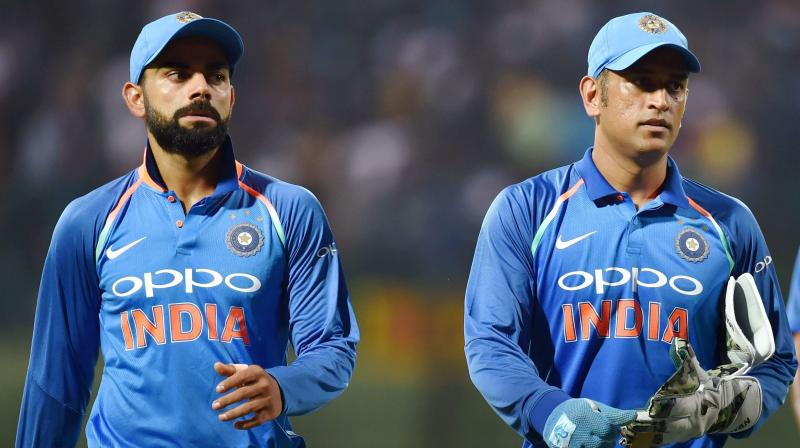 Image result for virat dhoni and rohit